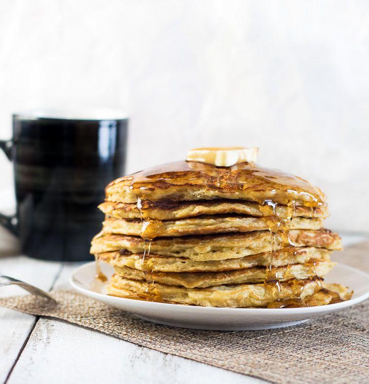 Grandma S Buttermilk Oatmeal Pancakes Oatmeal Buttermilk Pancakes Oatmeal Pancakes Pancake Recipe Buttermilk