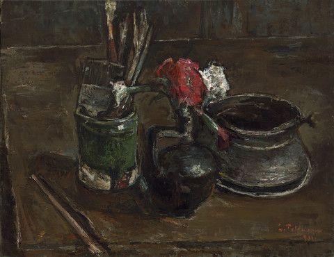 Gheorghe Petraşcu - Natură Moartă | Painting, Art