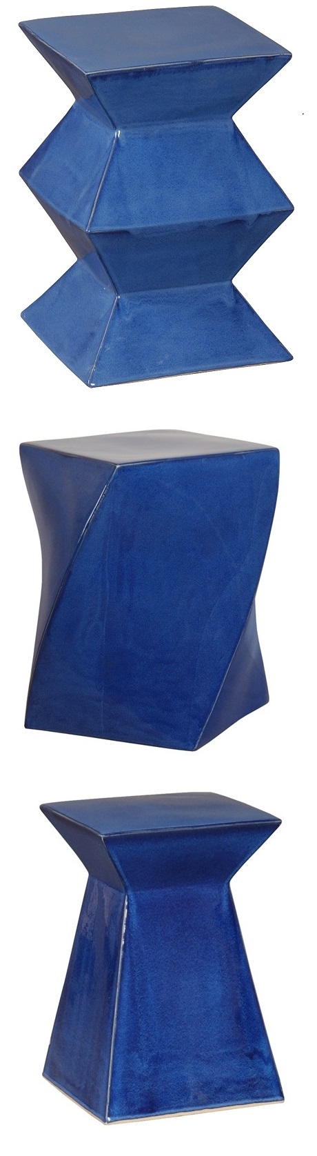 Blue Garden Stool | Blue Ceramic Stools | Blue Porcelain Stool | Blue Ceramic Stool |  sc 1 st  Pinterest & Blue Garden Stool | Blue Ceramic Stools | Blue Porcelain Stool ... islam-shia.org