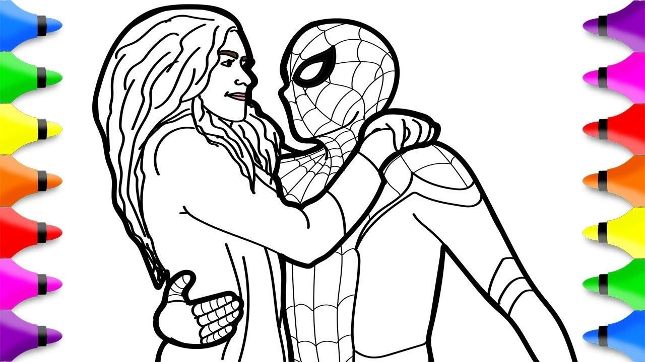 Nice Coloring Page Spider Man Far From Home That You Must Know You Re In Good Company If You Re Looking For Coloring Page Spider Man Far From Home
