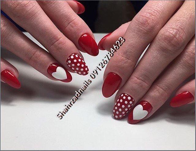 110 идей дизайна ногтей к Дню святого Валентина. Маникюр с ...