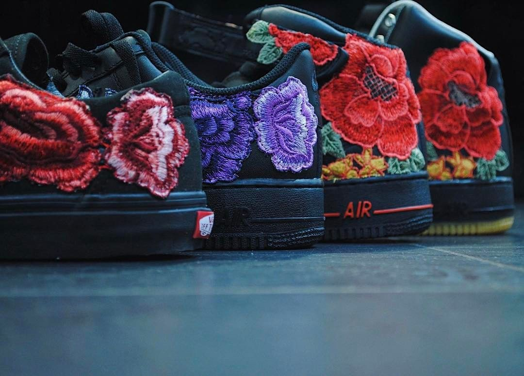 e362cd42404f0 There's Purple Love on This Nike Air Force 1