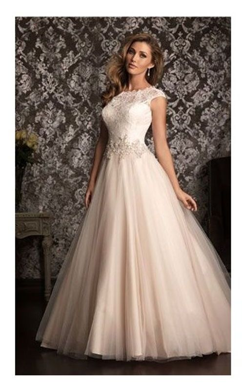 vestido-color-rosa-palido.jpg (500×798) | adornos con tela ...