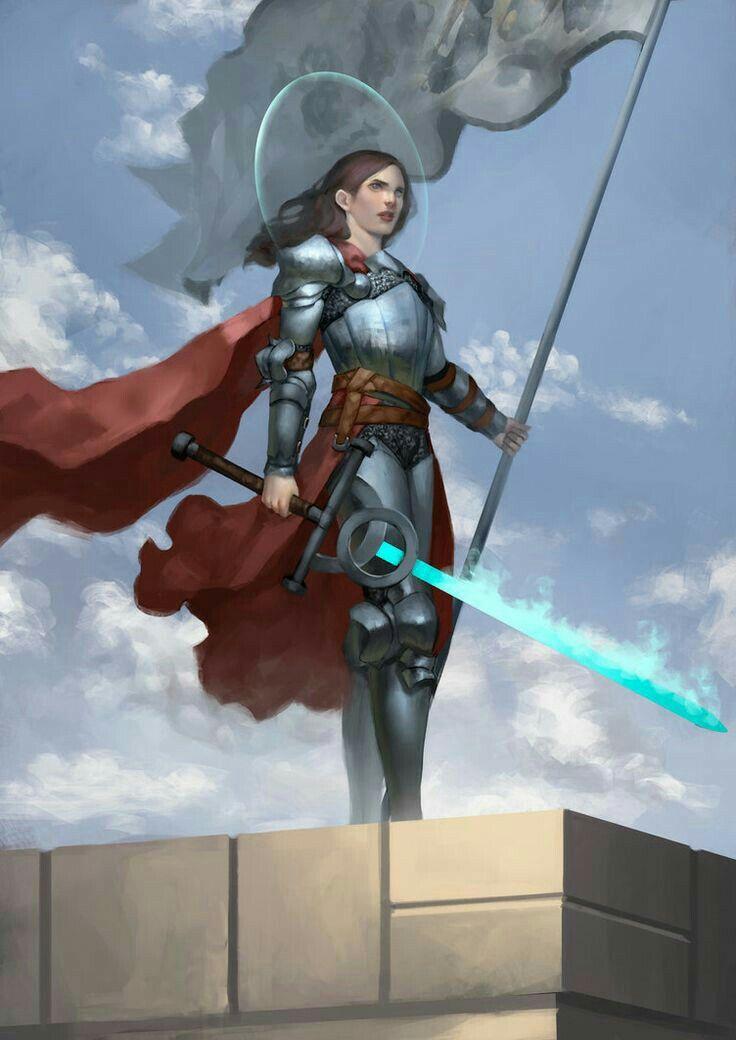 Female Paladin Knight - Pathfinder PFRPG DND D&D d20 fantasy | Character ideas in 2019 | Fantasy ...
