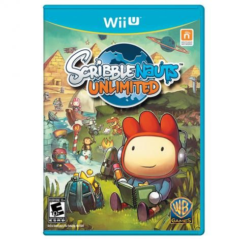 Try Wii U S Scribblenauts Help Maxwell Solve Puzzles By Using Your Imagination To Create Almost Anything You Can Scri Scribblenauts Wii U Games Game Reviews