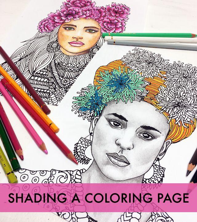 Shading A Coloring Page Tips And Tricks Alisaburke