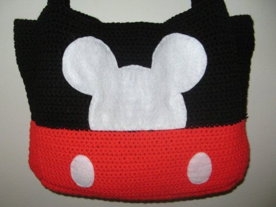 Mickey Mouse bag of awesome! | Disney Crochet | Pinterest ...