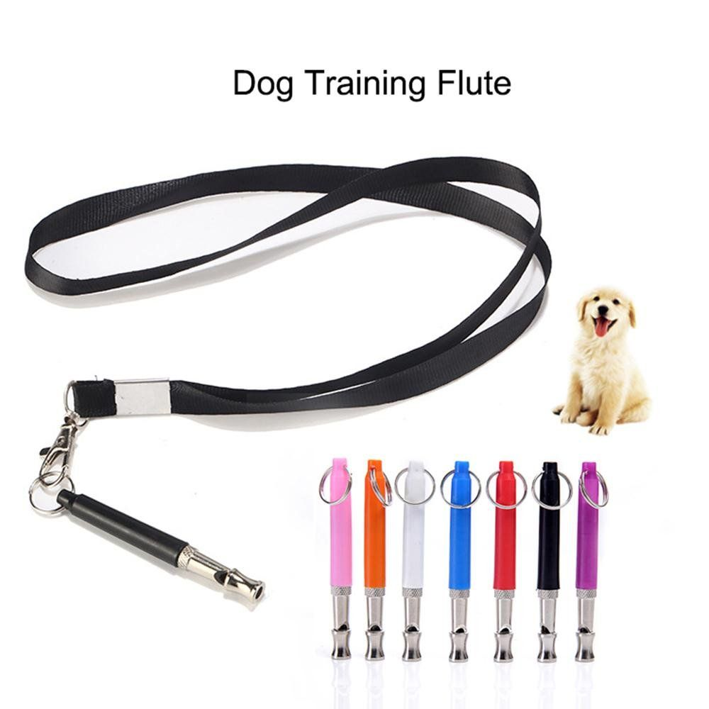 Aolvo 2 Pack Dog Whistle to Stop Barking Adjustable Sport