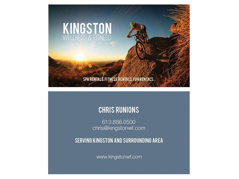 Kingston Wellness & Fitness, Chris Runions Business Card | Business ...