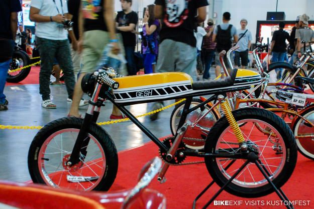 Culture Shock: Bike EXIF Visits Kustomfest  Byke  Pinterest  Bike, Custom bikes y Custom moped