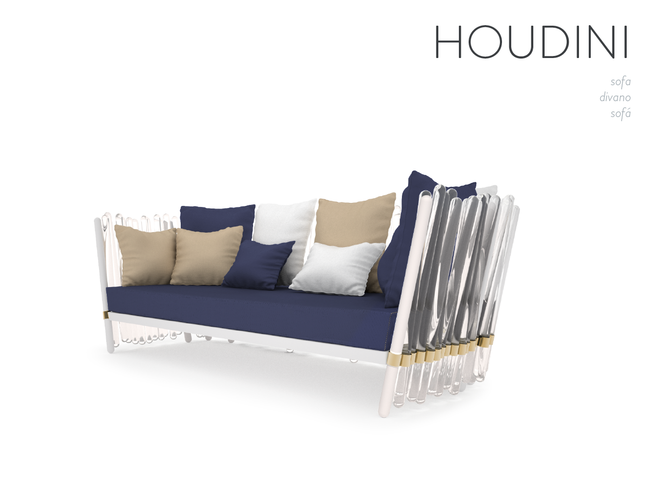HOUDINI sofa Magic is nothing but deception designed to