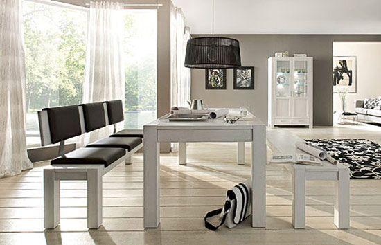 die besten 25 sitzbank mit lehne esszimmer ideen auf pinterest esstisch bank mit lehne bank. Black Bedroom Furniture Sets. Home Design Ideas