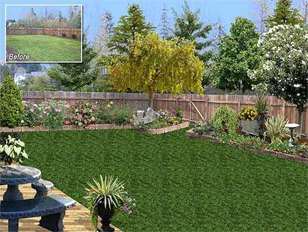 Landscaping Design 3d Rendering Landscape Design Plans