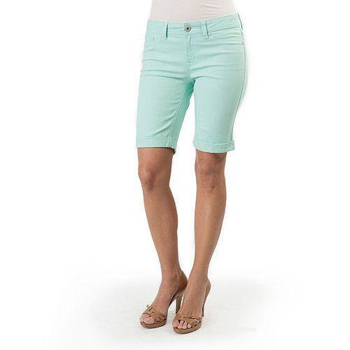 Jordache Women\'s Colored Bermuda Shorts: Women : $11.00 at Walmart ...