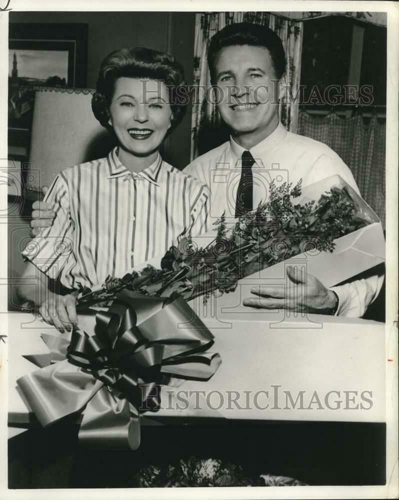 "1992 Press Photo Ozzie And Harriet Nelson, ""The Adventures"