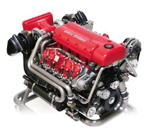 Chevy Diesel Blower: Visit MACHINE Shop Café (BANKS Dura-Max 6.6L Diesel V8