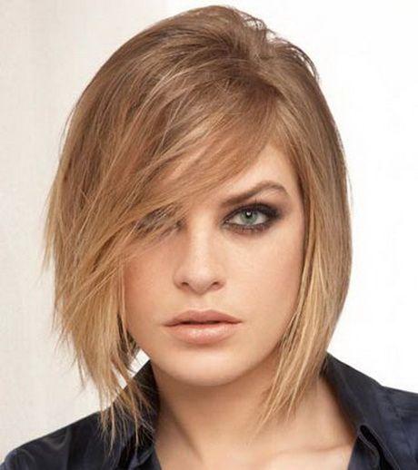 Coiffure femme pour visage rond | coiffure | Pinterest