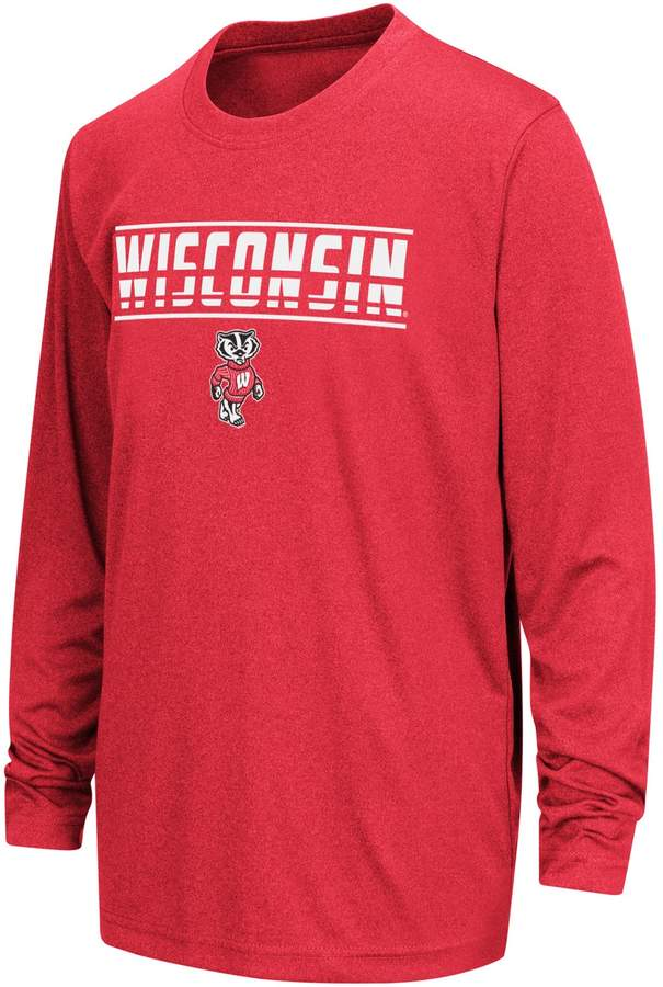 58a4073d Boys 8-20 Wisconsin Badgers Drone Tee | Products | Kids clothes boys ...