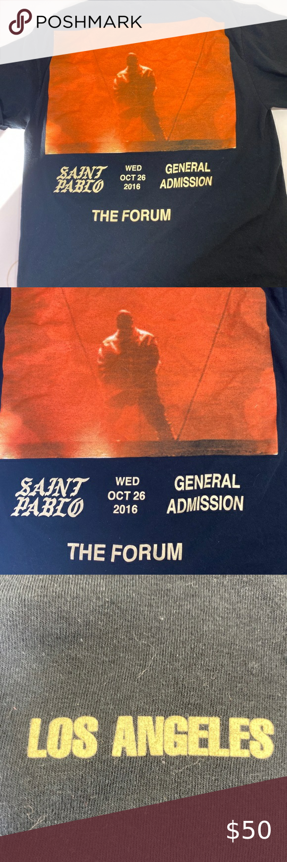 Kanye West The Forum Merch Size Large in 2020 Kanye west