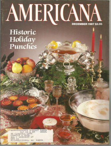 Americana November December 1987 Radio Daze Gold Country Christmas Adobes of God | eBay