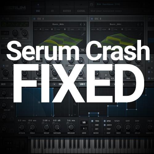 I have found and fixed the issue of Serum crashing when I