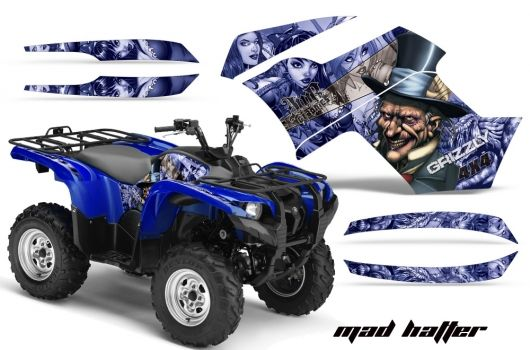 Yamaha Quad Graphic sticker decal Kit for Grizzly 700 ATV   ATV