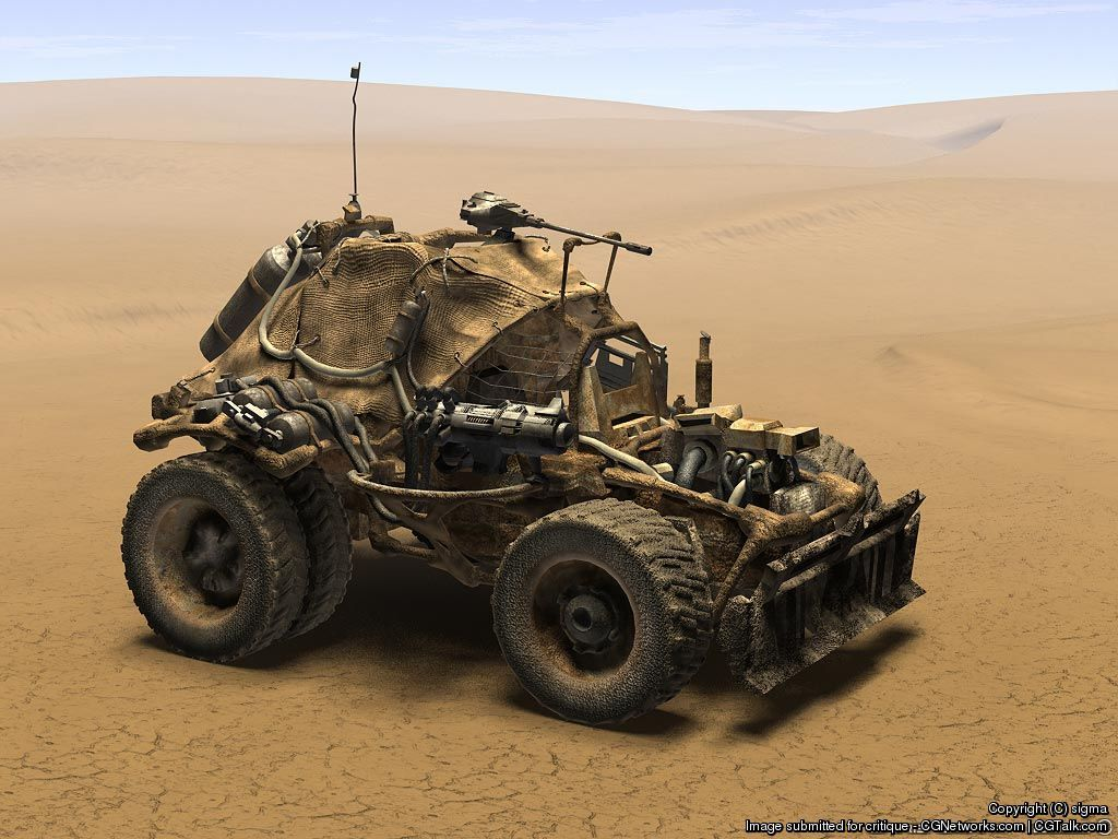Post apocalyptic vehicle by sigma