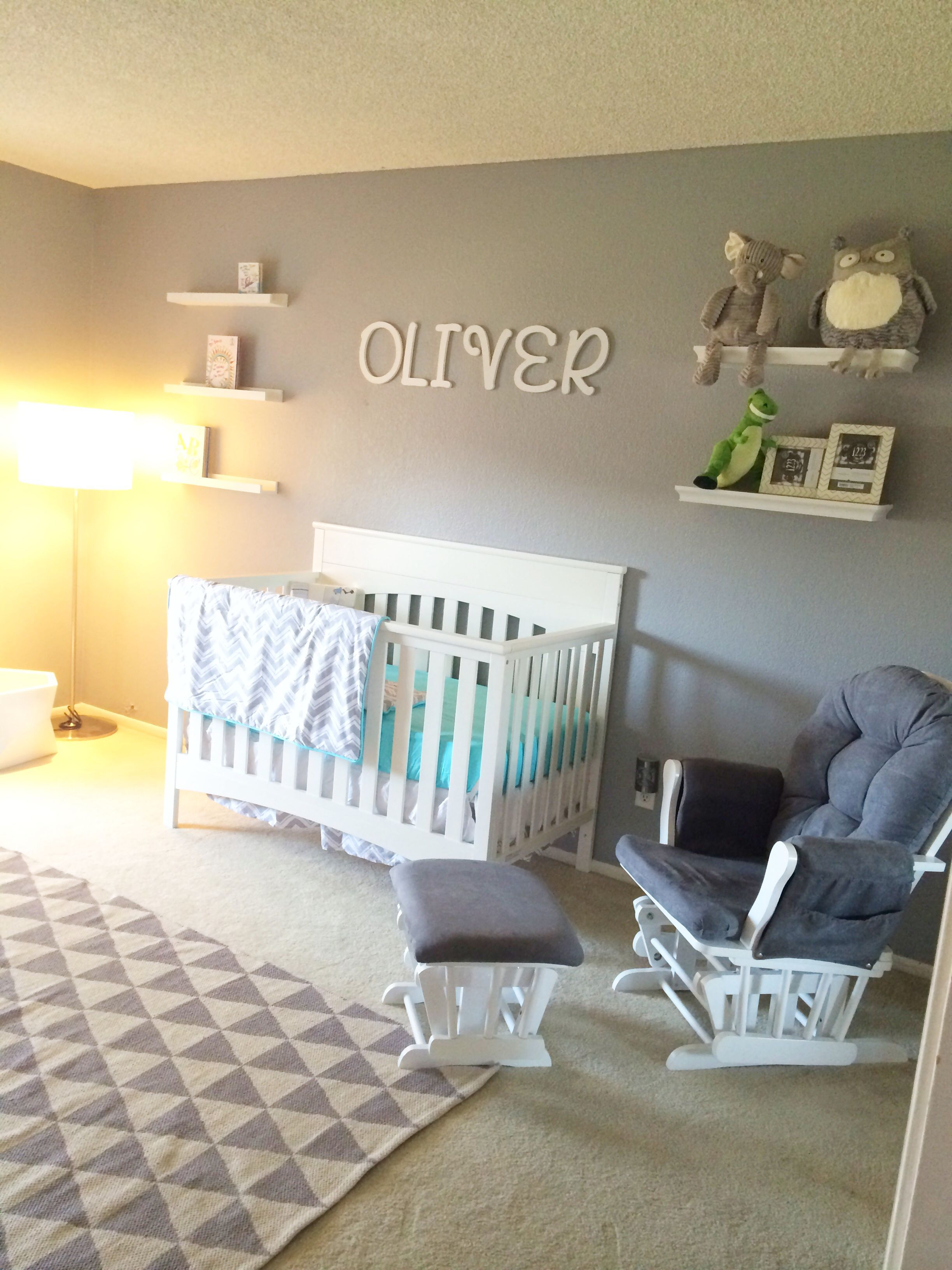 Behr Sparrow In The Nursery I Love This Color Of Grey