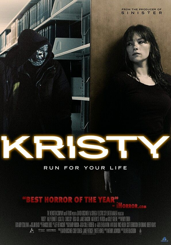 "Kristy"" Awesome movie! This one was really creeping me out.. Bravo ..."