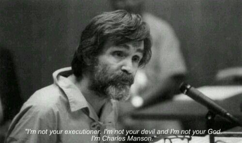 Manson quotes | French Language | Charles manson, Psychopath
