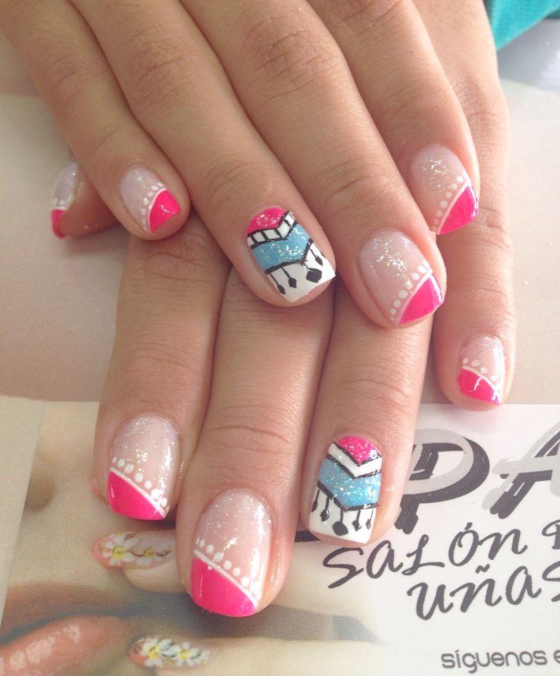 Pin de Paula Zuluaga en uñas | Pinterest | Diseños de uñas ...