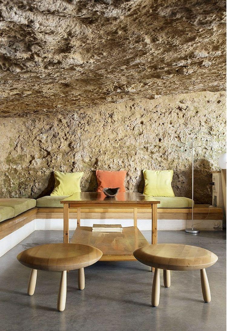 Bezaubernd Moderne Wände Ideen Von Naturstein Boden Und Wände Für Ein Modernes