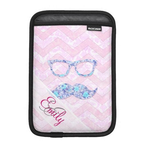 Monogram Glasses Teal Floral Mustache Pink Chevron iPad Mini Sleeve so please read the important details before your purchasing anyway here is the best buyThis Deals          Monogram Glasses Teal Floral Mustache Pink Chevron iPad Mini Sleeve Review on the This website by click the b...