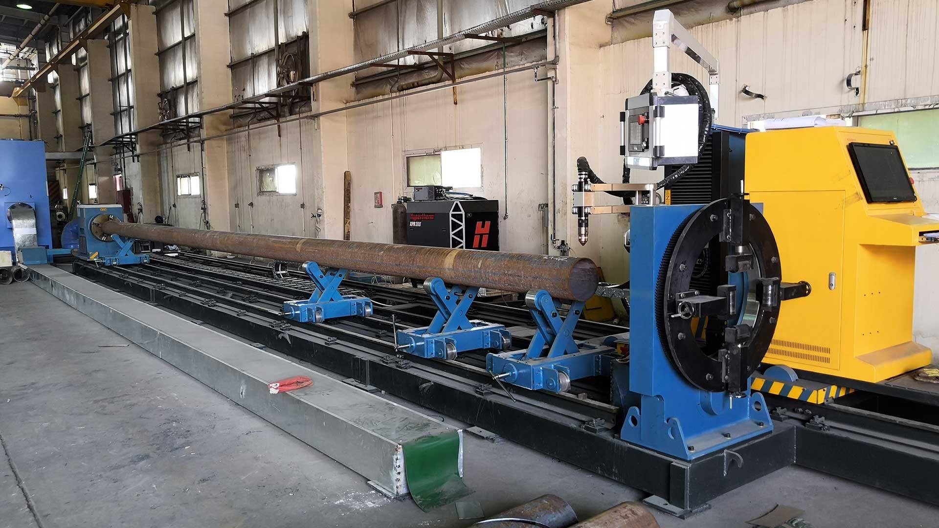 Pin On Steel Pipe Tube Cnc Plasma Cutting Machine