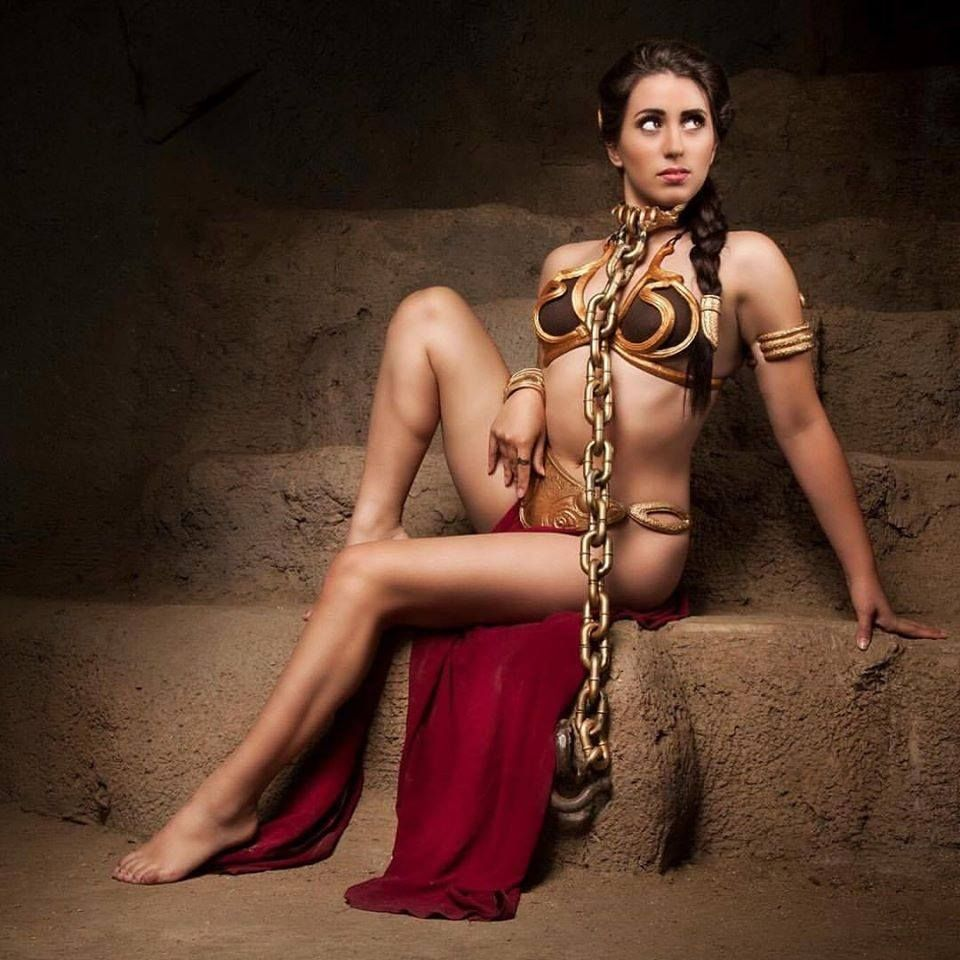 Sex slave girl chained