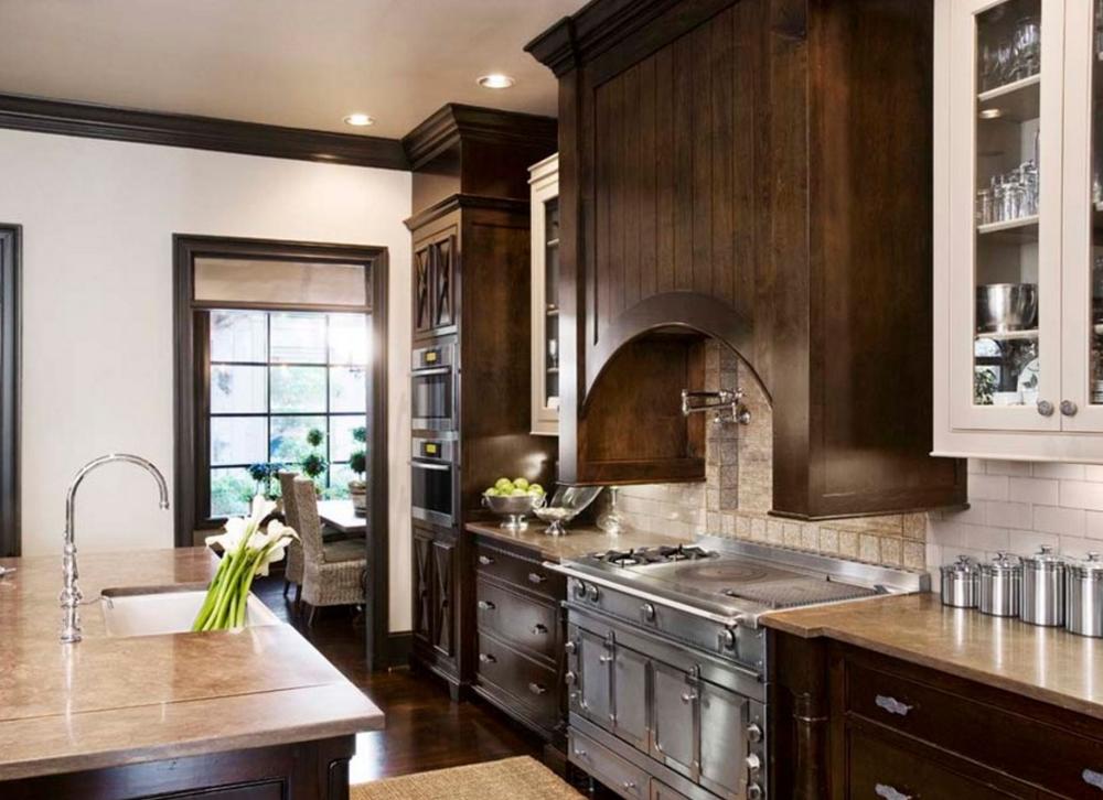 Kitchen cabinet design, Kitchen design, Wood floor kitchen ...