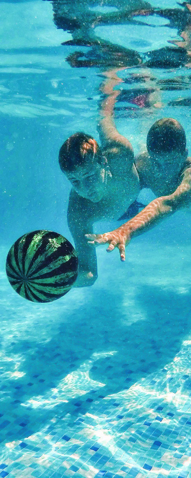 For your next swimming pool game, toss around a Watermelon