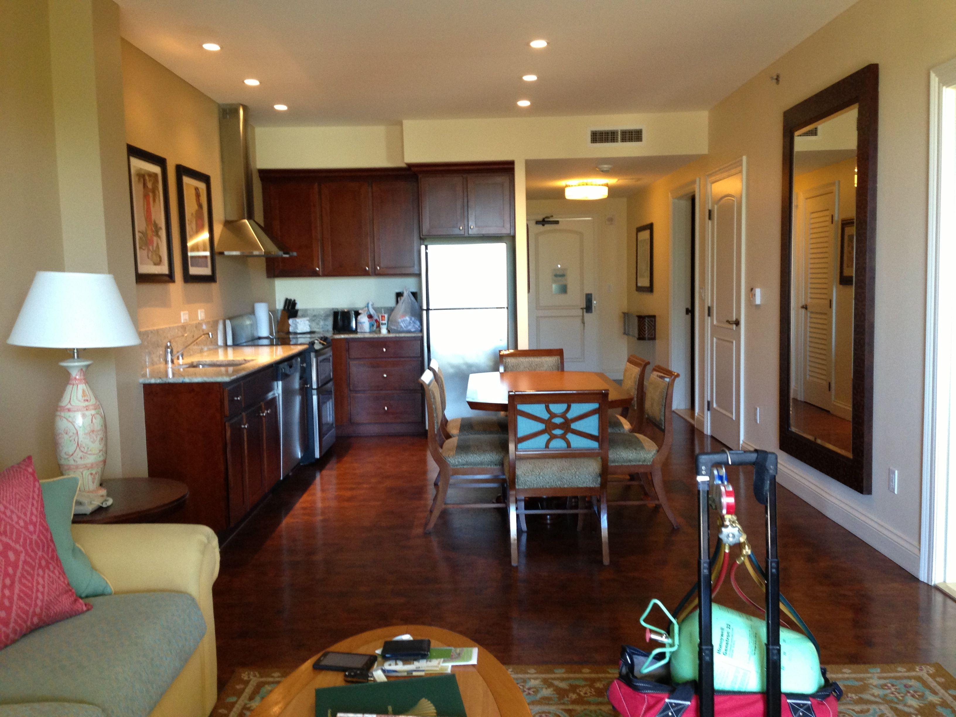 Hilton Grand Vacations Club Kings Land Resort Living Room