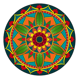 Literally everyone who has ever colored a mandala coloring page kept