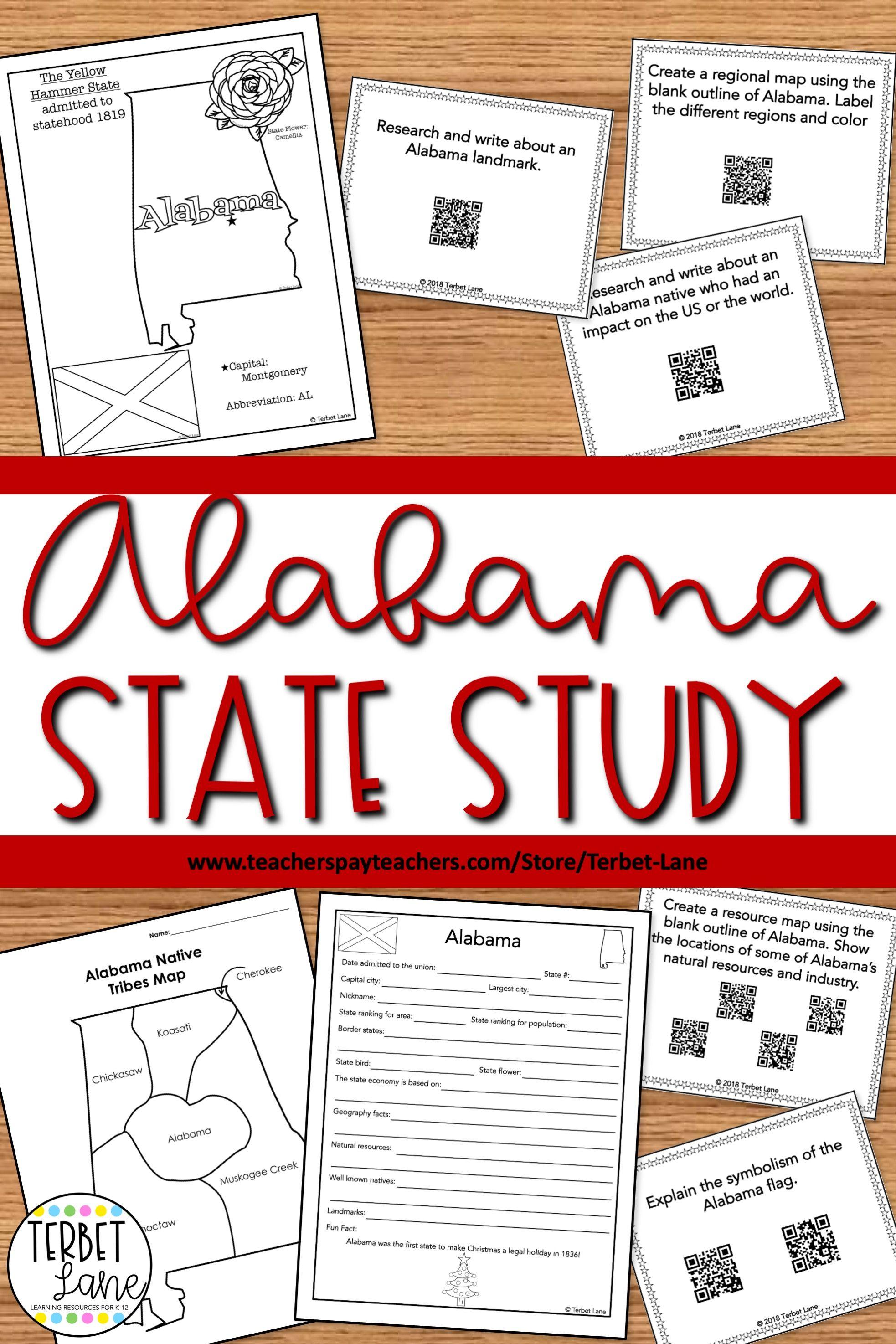 medium resolution of Alabama History Worksheet Elementary   Printable Worksheets and Activities  for Teachers