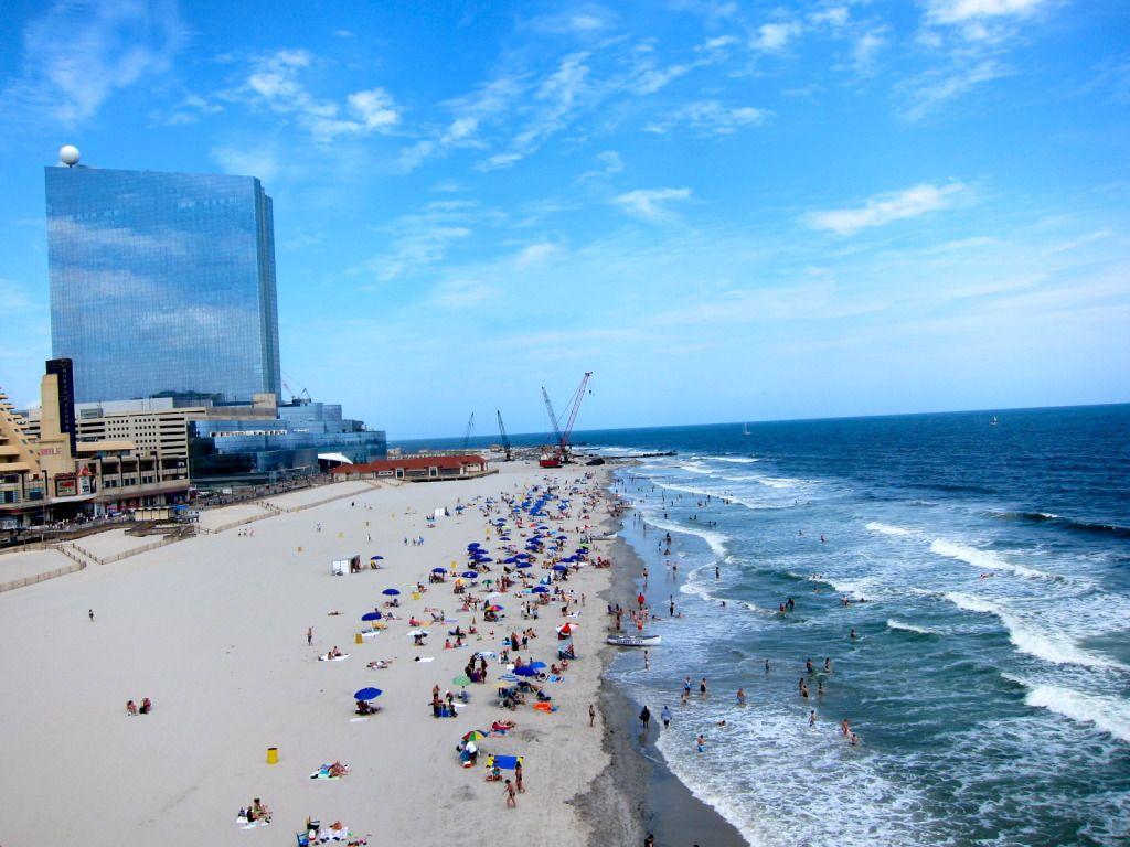 Atlantic City New Jersey The Beach