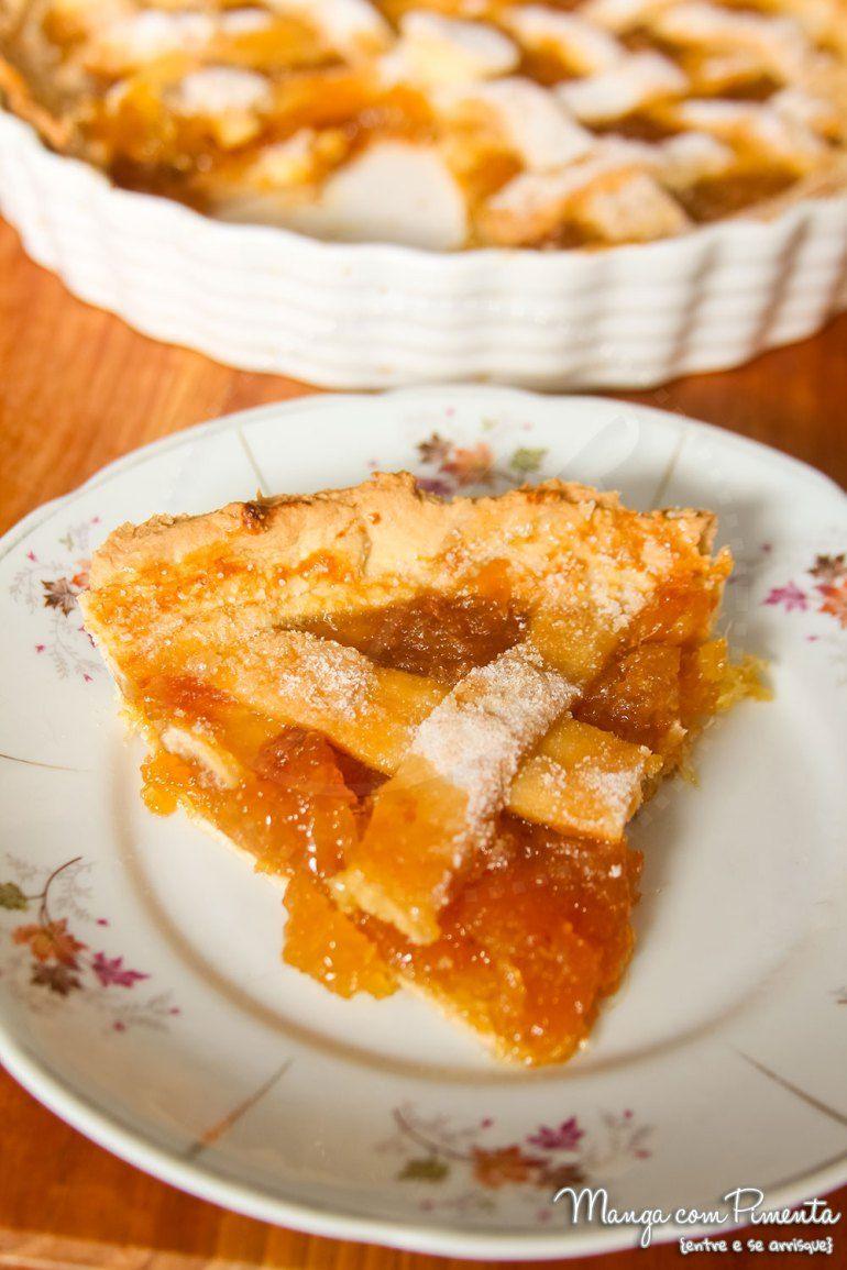 Torta Doce de Geleia Abacaxi. Para ver a receita, clique na imagem ...