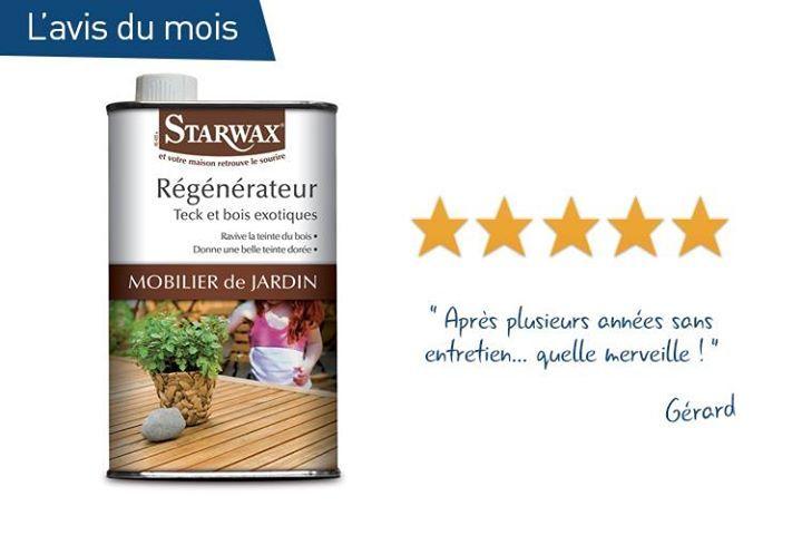 Avis consommateur sur le régénérateur pour salon de jardin en bois ...