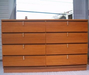 Johnson Carper Mid Century Modern Chest W Mirror