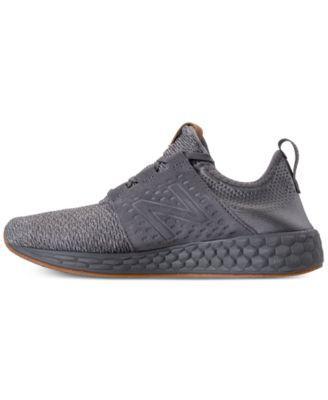 7c8e5f805acc2 New Balance Men s Fresh Foam Cruz Running Sneakers from Finish Line - Gray  11.5