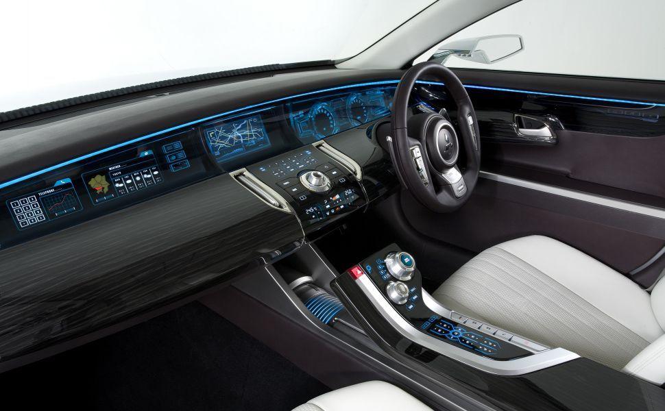 Mitsubishi Concept Zt Hd Wallpaper Mitsubishi Galant Luxury Car Interior Car Interior