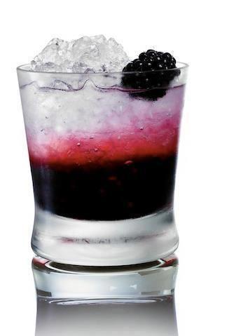 Blackberries and Lemonade with Three Olives Loopy Vodka