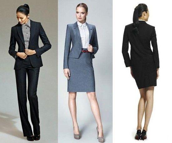 Strój biznesowy damski – 3 propozycje | Strój biznesowy