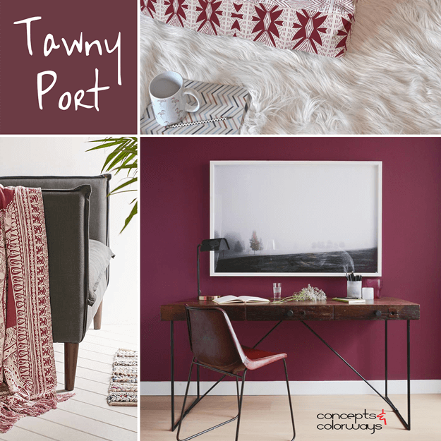 pantone tawny port. Black Bedroom Furniture Sets. Home Design Ideas