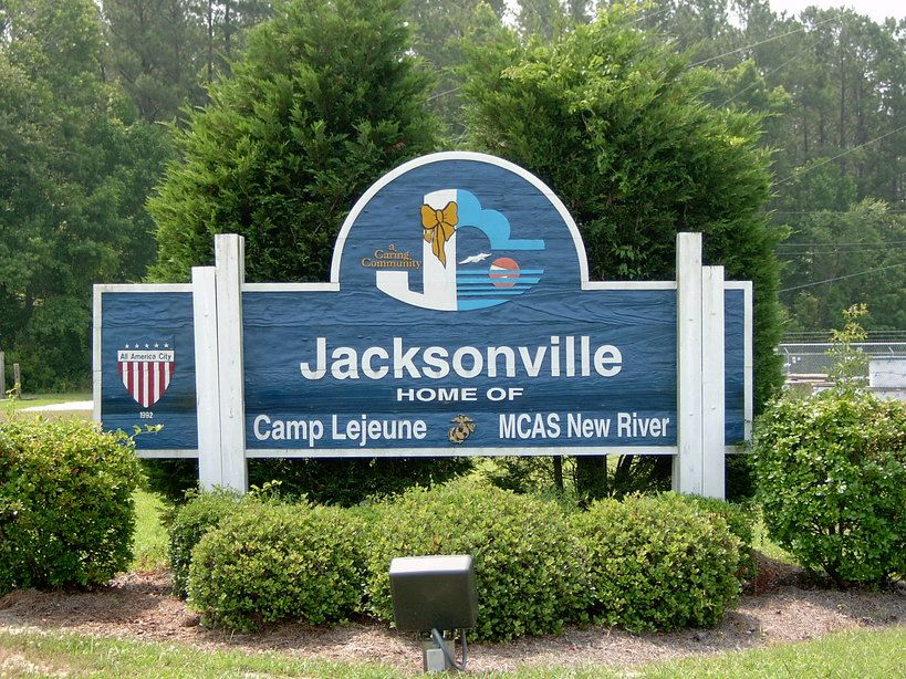 Jacksonville, NC : Jacksonville, NC City Limits My father use to have a  martial arts studio there. | Jacksonville north carolina, Camp lejeune,  Beach communities